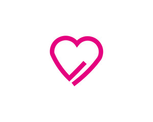 heart love logo
