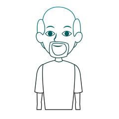 Adult man cartoon vector illustration graphic design