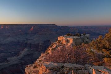 Views of South Rim at Grand Canyon National Park, Arizona