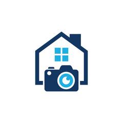 Camera House Logo Icon Design