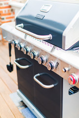 Outdoor gas grill