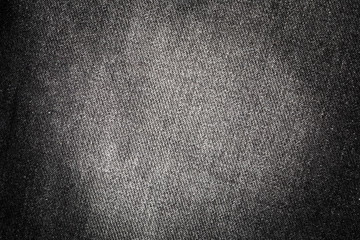 Texture of black denim