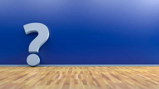 Fragezeichen - Konzept Frage, Problem, Lösung oder Antwort