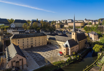 Luxembourg city cityscape