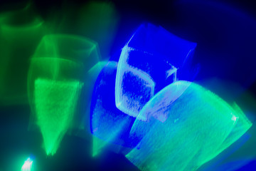 Abstract bright blue green background. Web design, interface design, cover design, wallpaper.