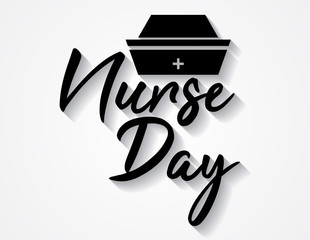International Nurse Day vector image. 12 May. International Nurse Day background.