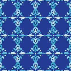 Seamless floral pattern. Flowers background. Decorative floral ornament. Textile rapport.