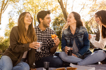 Pizza and Friends