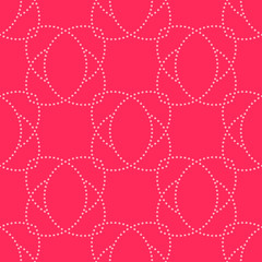 PINK SIMPLE PATTERN Light pink dot pattern on vivid pink background. This seamless simple pattern can be on tile, textile, carpet, wallpaper, curtain, monitor wallpaper, banner and etc.