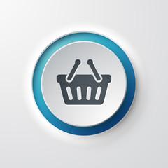 icône panier shopping