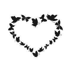 Butterfly heart2