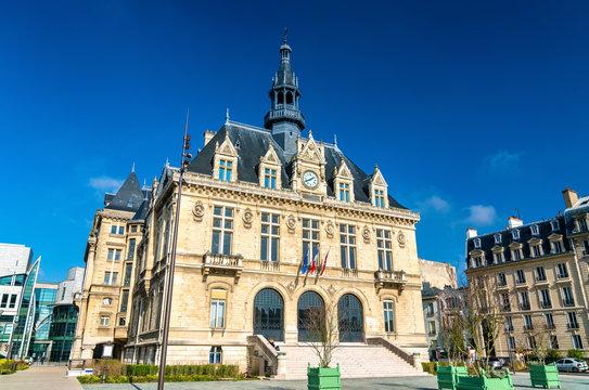 Mairie de Vincennes, the town hall of Vincennes near Paris, France