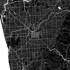 Area map of Adelaide, Australia