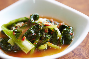 young radish kimchi