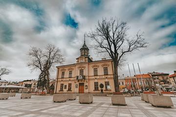 Obraz Ratusz Nowy Targ - fototapety do salonu
