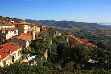 The Italian city of Cortona
