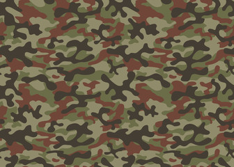 Print texture seamless camouflage green khaki black brown repetitive