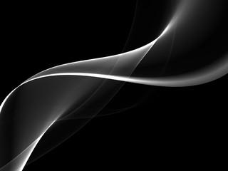 Abstract dark wave background