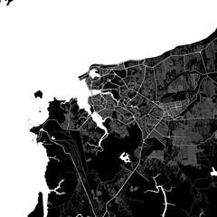 Area map of São Luís, Brazil