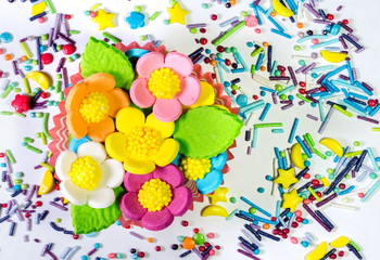 Decoration for the Easter cake.