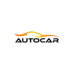 car logo vector template. Premium silhouette car vector illustration icon