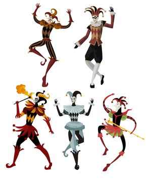 harlequin mimes collection
