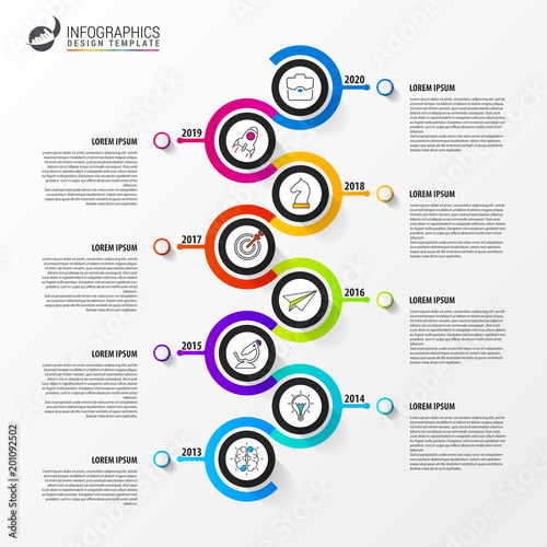 Timeline infographic design template business concept vector infographic design template business concept vector cheaphphosting Gallery