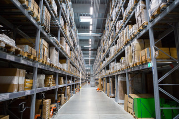 Warehouse store stock.