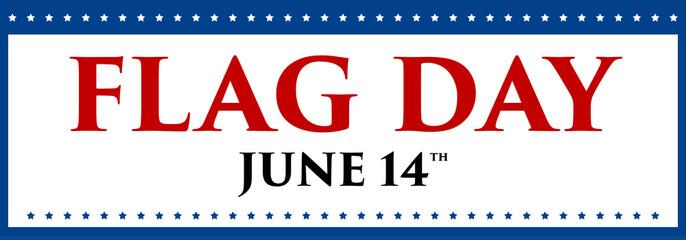 Vector illustration for American flag day