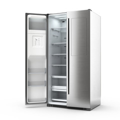 3D rendering large fridge