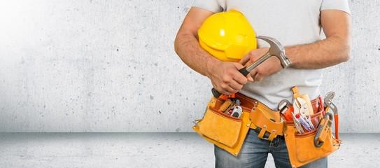 Fototapeta Builder. obraz