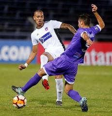 Soccer Football - Defensor Sporting v Monagas - Copa Libertadores - Luis Franzini Stadium