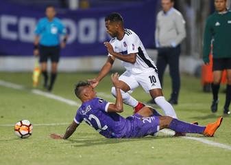 Soccer Football - Defensor Sporting v Monagas - Copa Libertadores - Luis Franzini Stadium,