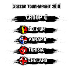 Soccer tournament 2018 group G