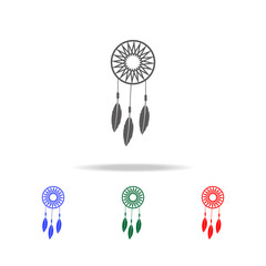 Dreamcatcher icon. Elements of culture of Mexico multi colored icons. Premium quality graphic design icon. Simple icon for websites, web design, mobile app, info graphics