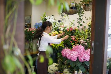 お花屋さん アルバイトイメージ