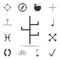 coat stand hanger icon. Detailed set of web icons. Premium quality graphic design. One of the collection icons for websites, web design, mobile app