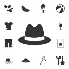 man hat icon. Detailed set of Summer illustrations. Premium quality graphic design icon. One of the collection icons for websites, web design, mobile app