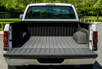 White Truck Bed
