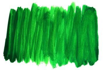 Unsauberer Pinsel Hintergrund grün