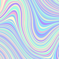 Abstract vector pattern. Curved wavy psychedelic irregular lines. Pattern based on fractal image.