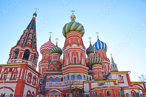 The Intercession Cathedral Was Built In 1561 Architects Of Are Postnik And