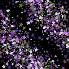 Stars confetti background. Celebration confetti decoration. Rich VIP premium design