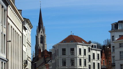 Brüssel: Stadtteil Ixelles / Kirche St. Boniface