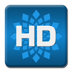 HD Blue Rounded Square With Element