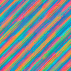 Colorful rainbow striped seamless pattern background