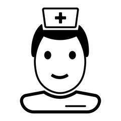 Medizin & Gesundheit Icon - Arzt