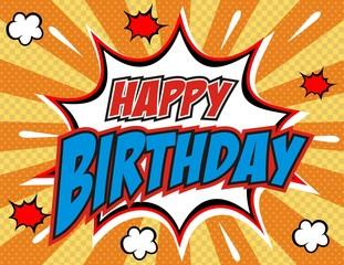 happy birthday ,vector illustration