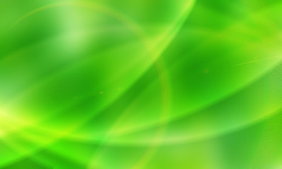 abstract lime background with circles, overflows