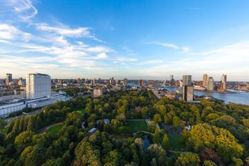 Rotterdam aerial